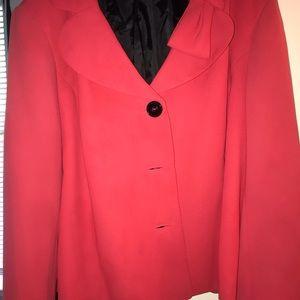 Women's KASPER red tux